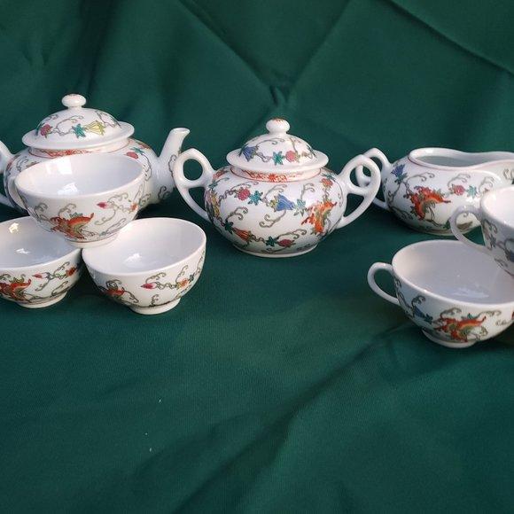 Vintage Jingdezheng Chinese Export Tea Set